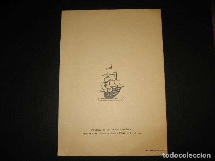 Libros de segunda mano: CATALOGO DE LAS EXPOSICIONES ESPAÑOLAS 1968 - Foto 6 - 197801825