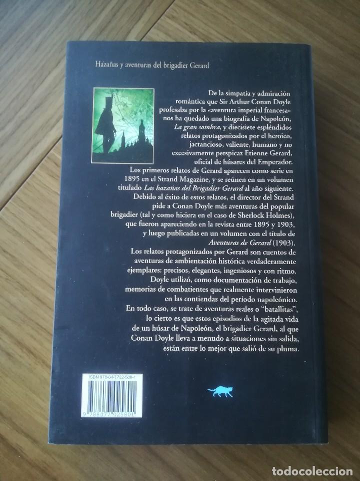 Libros de segunda mano: HAZAÑAS Y AVENTURAS DEL BRIGADIER GERARD ARTHUR CONAL DOYLE -ED.VALDEMAR 2007- - Foto 2 - 197928722