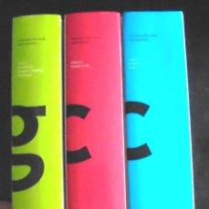 Livres d'occasion: GRAMÀTICA DEL CATALÀ CONTEMPORANI I, II I III II JOAN SOLÀ CORTASSA 2002 IMPECABLE. Lote 198042533