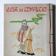 Libros de segunda mano: ESCENAS DE LA VIDA DE CONFUCIO. BILINGÜE ESPAÑOL-CHINO - EDICIONES MERCEDES. Lote 198079703