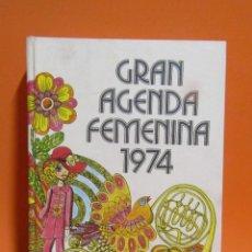 Libros de segunda mano: ISABEL BLANCAFORT AGENDA FEMENINA AÑO 1974 DIRECCION ARTISTICA MARC SAGALES(ILUSTR. POP) NAUTA 1973. Lote 198082863