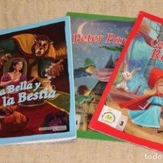 Libros de segunda mano: LOTE DE 3 CUENTOS DE LA BIBLIOTECA INFANTIL EL MUNDO Y NUEVOS. . Lote 198143556