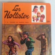 Libros de segunda mano: LOS HOLLISTER Y EL TESORO DE PUERTO RICO - JERRY WEST. Lote 198165165
