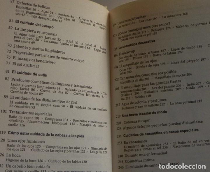 Libros de segunda mano: ABC DE LA BELLEZA FEMENINA - LIBRO MARIE LUISE STANGL - CONSEJOS CUIDADOS GUÍA CUTIS CUERPO MUJER - Foto 3 - 198212101