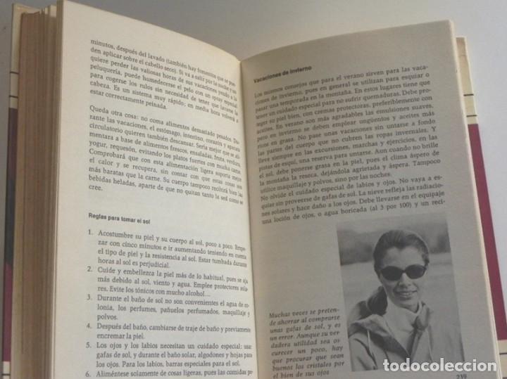 Libros de segunda mano: ABC DE LA BELLEZA FEMENINA - LIBRO MARIE LUISE STANGL - CONSEJOS CUIDADOS GUÍA CUTIS CUERPO MUJER - Foto 7 - 198212101