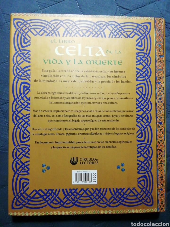 Libros de segunda mano: EL LIBRO CELTA DE LA VIDA Y LA MUERTE. JULIETTE WOOD - Foto 2 - 198380463