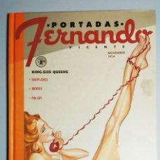 Libri di seconda mano: PORTADAS / COVERGIRLS. FERNANDO VICENTE. PRIMERA EDICIÓN. ED. BRANDSTUDIO, 2010.. Lote 198470221