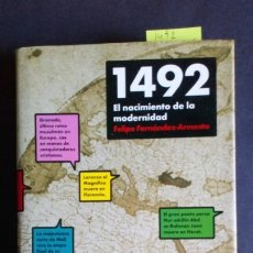 Libros de segunda mano: 1492 EL NACIMIENTO DE LA MODERNIDAD. Lote 198534778