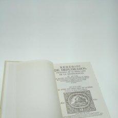 Libros de segunda mano: REMEDIOS DE DEPLORADOS, PROBADOS EN LA PIEDRA LYDIO DE LA EXPERIENCIA. 1733. MADRID.. Lote 198554625