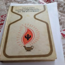 Libros de segunda mano: LA PARAPSICOLOGIA EN PROFUNDIDAD 1°EDICION.1979.. Lote 198555243