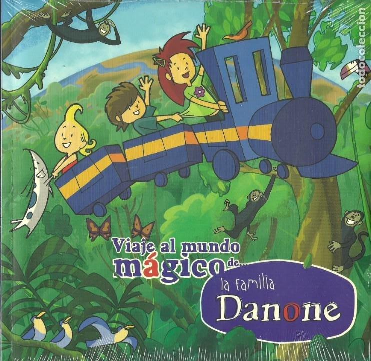 LA FAMILIA DANONE VIAJE AL MUNDO MÁGICO. DANONE AÑO 2006 (Libros de Segunda Mano - Literatura Infantil y Juvenil - Otros)