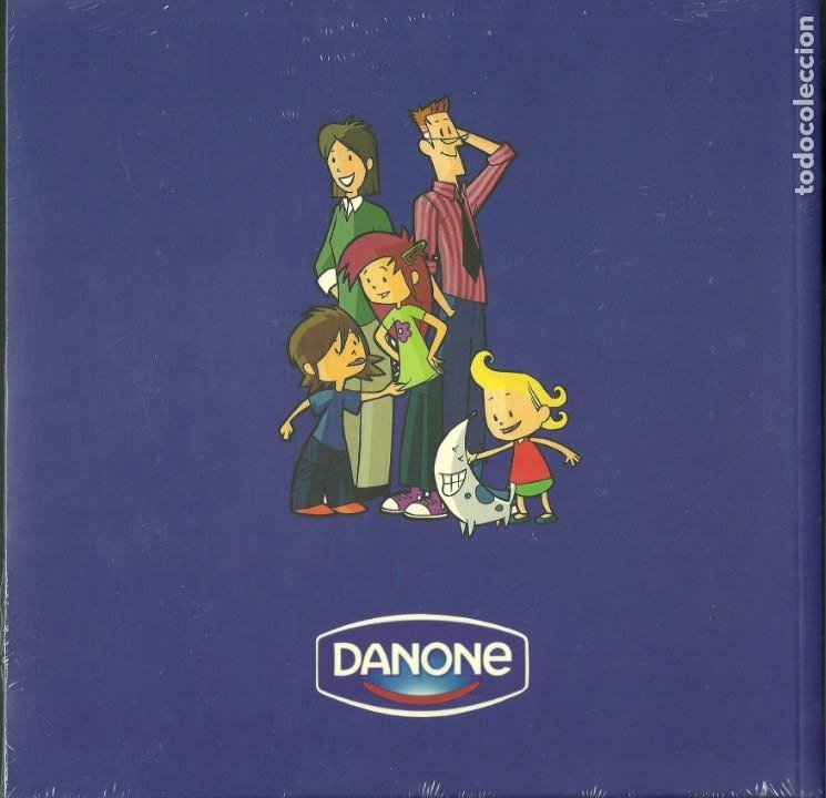 Libros de segunda mano: La familia Danone Viaje al mundo mágico. Danone Año 2006 - Foto 2 - 198654278