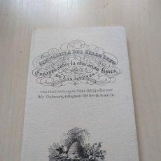Libros de segunda mano: FACSÍMIL. GIMNÁSTICA DEL BELLO SEXO O ENSAYOS SOBRE LA EDUCACIÓN FÍSICA DE LAS JÓVENES. ESPASA. LIM.. Lote 198674602