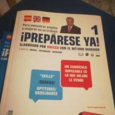 Libros de segunda mano: PREPÁRESE YA ESPAÑOL INGLÉS Y ALEMÁN. Lote 198764203