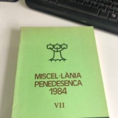 Libros de segunda mano: MISCEL LANIA PENEDESENCA. Lote 198771128