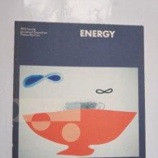 Libros de segunda mano: ENERGY. EXPOSICIÓN UNIVERSAL SEVILLA, 1992 (EXPOENERGIA).. Lote 198833446