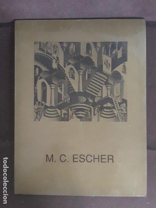 HOMENAJE A M. C. ESCHER CÁTEDRA DIBUJO GEOMÉTRICO PROYECCIONES UNIVERSIDAD COMPLUTENSE (Libros de Segunda Mano - Bellas artes, ocio y coleccionismo - Otros)