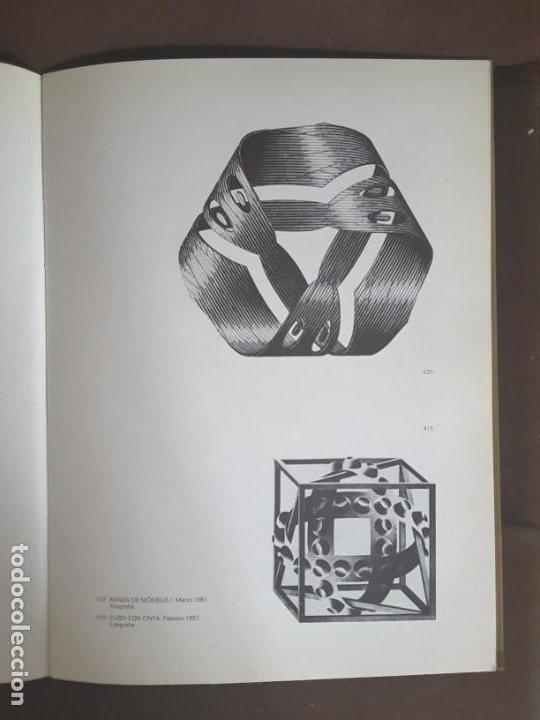 Libros de segunda mano: HOMENAJE A M. C. ESCHER CÁTEDRA DIBUJO GEOMÉTRICO PROYECCIONES UNIVERSIDAD COMPLUTENSE - Foto 4 - 198895550