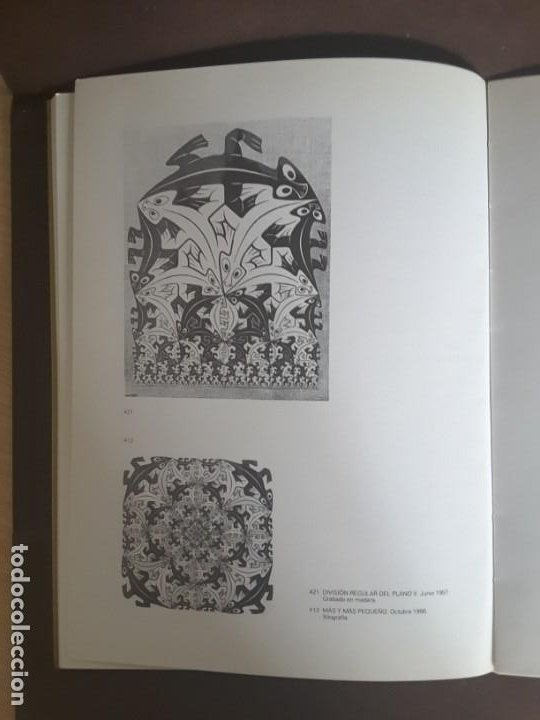 Libros de segunda mano: HOMENAJE A M. C. ESCHER CÁTEDRA DIBUJO GEOMÉTRICO PROYECCIONES UNIVERSIDAD COMPLUTENSE - Foto 5 - 198895550