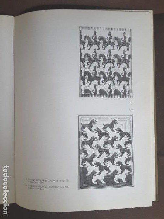 Libros de segunda mano: HOMENAJE A M. C. ESCHER CÁTEDRA DIBUJO GEOMÉTRICO PROYECCIONES UNIVERSIDAD COMPLUTENSE - Foto 8 - 198895550