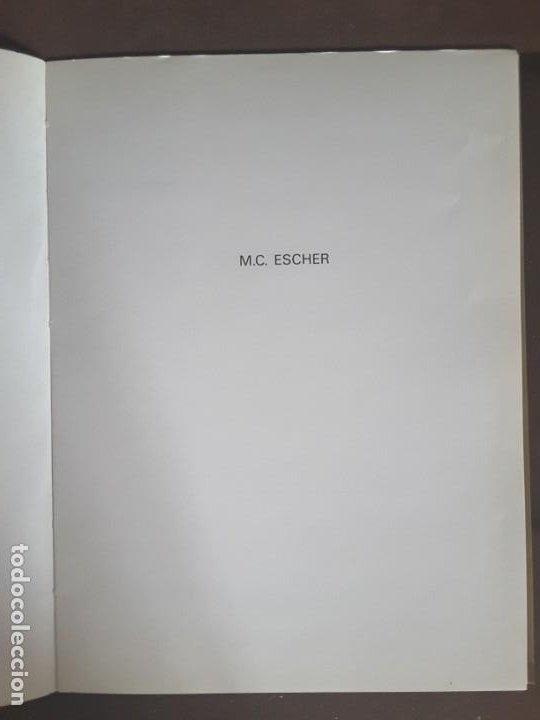 Libros de segunda mano: HOMENAJE A M. C. ESCHER CÁTEDRA DIBUJO GEOMÉTRICO PROYECCIONES UNIVERSIDAD COMPLUTENSE - Foto 10 - 198895550