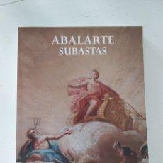 Libros de segunda mano: CATÁLOGO DE LA CASA DE SUBASTAS ABALARTE FEBRERO 2014. Lote 198908376