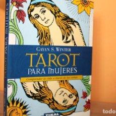 Libros de segunda mano: TAROT PARA MUJERES / GAYAN WINTER. Lote 198991206