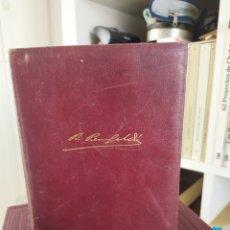 Libros de segunda mano: OBRAS COMPLETAS DE BENITO PÉREZ GALDÓS TOMO IV EDICIONES AGUILAR 1949. Lote 199038487