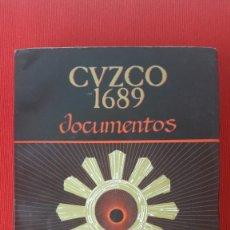 Libros de segunda mano: CUZCO 1689. DOCUMENTOS. ECONOMÍA Y SOCIEDAD EN EL SUR ANDINO. Lote 199069956