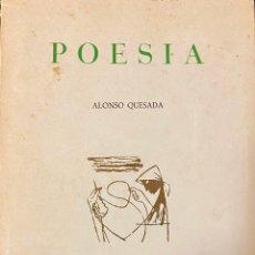 Libros de segunda mano: ALONSO QUESADA: POESÍA. 1964. TAGORO. DIBUJOS ANTONIO PADRÓN. PRÓLOGO MIGUEL DE UNAMUNO. CANARIAS.. Lote 199167121