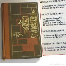 Libros de segunda mano: EL MISTERIO DE LOS GRANDES TESOROS PERDIDOS LIBRO HISTORIA GALEONES VIGO ( ESPAÑA )T DE LAS SS NAZIS. Lote 199200553