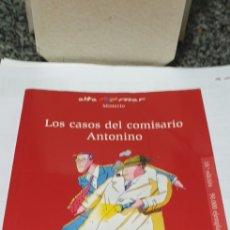 Libros de segunda mano: LOS.CASOS DEL COMISARIO ANTONINO. Lote 199248010