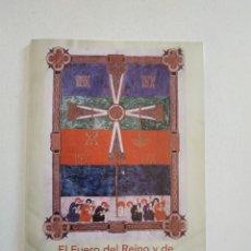 Libros de segunda mano: EL FUERO DEL REINO Y DE LA CIUDAD DE LEÓN. MIL ANIVERSARIO. AYUNTAMIENTO Y ARCHIVO MUNICIPAL, 2017.. Lote 199278873