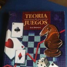Libros de segunda mano: TEORÍA DE JUEGOS KEN BINMORE 1993. Lote 199391118
