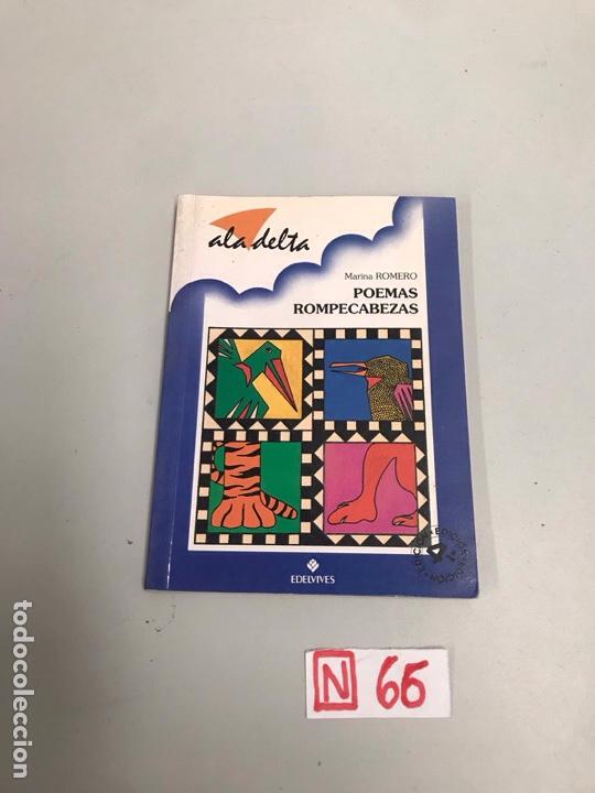POEMAS ROMPECABEZAS (Libros de Segunda Mano - Literatura Infantil y Juvenil - Otros)