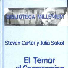 Libros de segunda mano: EL TEMOR AL COMPROMISO - STEVEN CARTER Y JULIA SOKOL. Lote 199524450