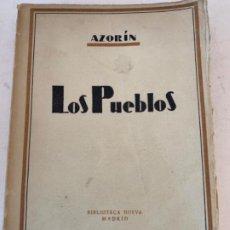 """Libros de segunda mano: """"LOS PUEBLOS"""" DE AZORÍN"""". Lote 199737100"""