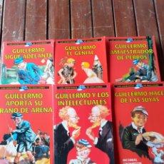Libros de segunda mano: 6 LIBROS, LAS AVENTURAS DE GUILLERMO, RBA. Lote 199742447