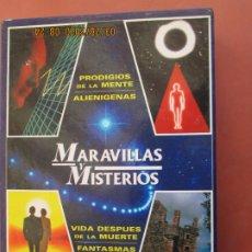 Libros de segunda mano: MARAVILLAS Y MISTERIOS HYMSA - 4 LIBROS FANTASMAS , OVNIS , ALIENIGENAS , VIDA DESPUES DE LA MUERTE . Lote 199756323