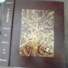 Libros de segunda mano: KARMA-7 VOL IV 1976 12 NÚM. 38-49 IMPECABLE REVISTA ESPAÑOLA DE PARAPSICOLOGÍA. NUEVOS HORIZONTES DE. Lote 199757817