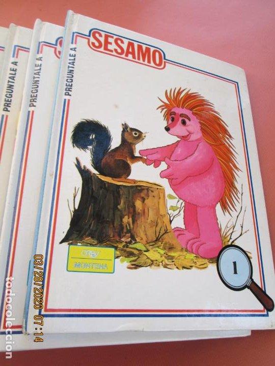 Libros de segunda mano: PREGUNTALE A SESAMO - 25 VOLUMENES COMPLETA -ORBIS/MONTENA 1986 (MUPPETS-BARRIO SESAMO) - Foto 3 - 199764685
