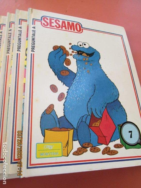 Libros de segunda mano: PREGUNTALE A SESAMO - 25 VOLUMENES COMPLETA -ORBIS/MONTENA 1986 (MUPPETS-BARRIO SESAMO) - Foto 4 - 199764685