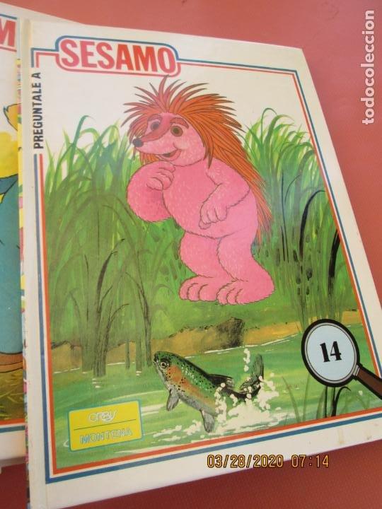 Libros de segunda mano: PREGUNTALE A SESAMO - 25 VOLUMENES COMPLETA -ORBIS/MONTENA 1986 (MUPPETS-BARRIO SESAMO) - Foto 5 - 199764685