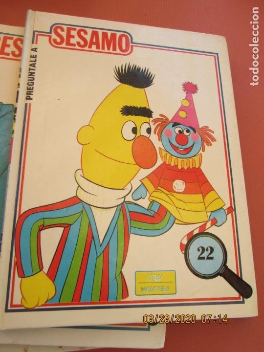 Libros de segunda mano: PREGUNTALE A SESAMO - 25 VOLUMENES COMPLETA -ORBIS/MONTENA 1986 (MUPPETS-BARRIO SESAMO) - Foto 6 - 199764685