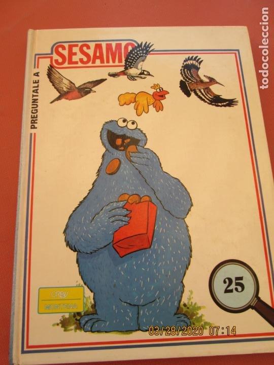 Libros de segunda mano: PREGUNTALE A SESAMO - 25 VOLUMENES COMPLETA -ORBIS/MONTENA 1986 (MUPPETS-BARRIO SESAMO) - Foto 7 - 199764685