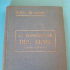 Libros de segunda mano: BUÇRUSCHETTI. EL DESPERTAR DEL ALMA. ROCA EDITORES.. Lote 199807950
