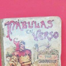 Libros de segunda mano: FÁBULAS EN VERSO POR SAMANIEGO. S. CALLEJA. ILUSTRADO. Lote 199859582