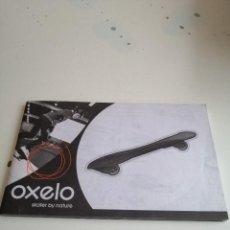 Libros de segunda mano: G-VIK22 LIBRO OXELO DESCRIPCION DEL PRODUCTO SKATER . Lote 199904672