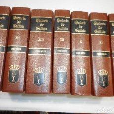 Libros de segunda mano: MANUEL MURGIA-BENITO VICETTO HISTORIA DE GALICIA TOMOS DEL VIII AL IVX (7 TOMOS)· Q106W . Lote 199971200