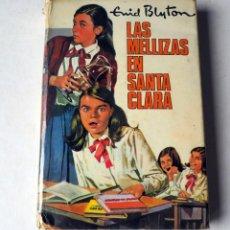 Libros de segunda mano: LIBRO. LAS MELLIZAS EN SANTA CLARA. DE ENID BLYTON. AÑO 1961. Lote 200076131